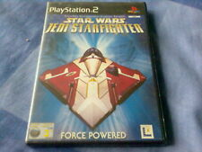 STAR WARS JEDI STARFIGHTER (2002 SONY PlayStation 2 Game) PS2