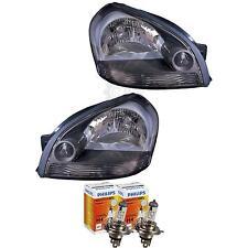 Phare Avant Set pour Hyundai Tucson Année fab. 05-10 H4 incl. PHILIPS Lampes