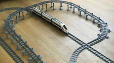 Lego City compatible train set track supports, works with 60051 60052