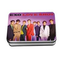 Kpop EXO Love Shot Polaroid Lomo Photo Card New Album HD Photocard Cards 30pcs
