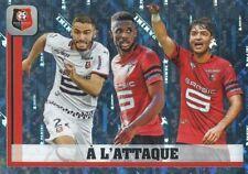 425 SKILL A L'ATTAQUE STADE RENNAIS FC LIGUE 1 METAL STICKER PANINI FOOT 2019