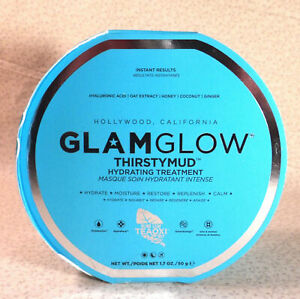 Glamglow ThirstyMud Hydrating Treatment 1.7 oz  Sealed Box