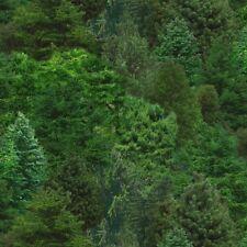 1 yard Green Trees Landscape Medley Elizabeth's Studio Cotton Quilt Fabric 176