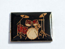 Vintage Drum Set 1c Enamel Pin
