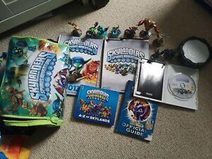 Skylanders Spyros Adventure Wii Game And Toys And Books Bundle