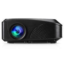 Portable 3600 Lumens 1080P HDMI USB VGA AV TF Home Theater Movie Multimedia US