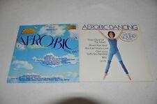 VA Sampler - Aerobic-Dancing - 80s 80er - 2er Set Album Vinyl Schallplatte 2LP
