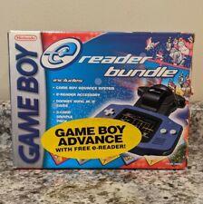 Nintendo Game Boy Advance & E Reader Bundle *BOX & MANUALS ONLY*