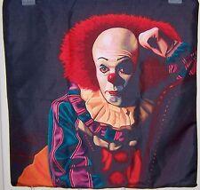 """Halloween Horror art pillow case 17""""x17 . Pennywise Clown Halloween & It"""
