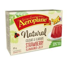 Aeroplane Strawberry Jelly Crystals 30% Reduced Sugar 85g