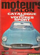 MOTEURS 45 1964 GP FRANCE ALLEMAGNE AUTRICHE ITALIE 24H DE SPA 33 ESSAIS SPORT