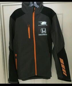 Rahal Letterman Lanigan Honda Racing Men's Formula Soft Shell Jacket NWT Size S