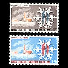 TAAF 1984 - Glaciology Science - Sc 105/6 MNH