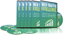 Web Traffic Excellence- 5 Part Video Course on 1 CD