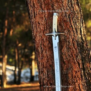 Ottoman Sword with embroidered scabbard / Sultan's Sword / Handmade sword