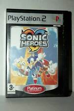 SONIC HEROES GIOCO USATO BUONO STATO SONY PS2 EDIZIONE ITA PLATINUM RS2 42006