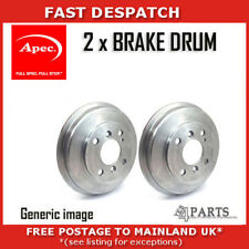2 X REAR BRAKE DRUMS FOR ROVER DRM9514