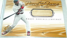 MANNY RAMIREZ 2000 GAME USED BAT CARD MLB UPPER DECK SP CLEVELAND INDIANS VGC