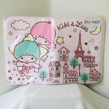 Sanrio Little Twin Stars Kiki & Lala Floor Mat 60cm x 40 cm Kuji Prize Japan