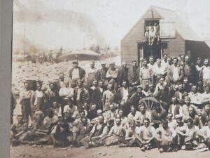 Vtg 1914 PAVING CUTTER'S UNION Vinalhaven Island Maine Penobscot Bay Photograph