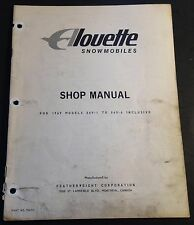 VINTAGE 1969 ALOUETTE SNOWMOBILE MODEL 869-1 & 869-6 PARTS MANUAL (927)