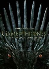 Game of Thrones Complete Season 8 DVD ( 2019 DVD 4-Disc ) New & Sealed