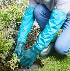 Briers Full Length Waterproof Drain Tank & Pond Garden Gloves Large 9