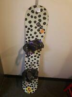 Burton Social Snowboard With Bindings Burton Size 145 Cm