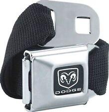 DODGE Logo Licensed Seat Belt  Design Belt Buckle Combo for Pants