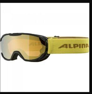 Alpina Pheos JR Ski Snowboard Goggles, Doubleflex Mirror Lens, UK SHIP FOC