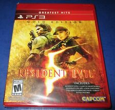 Resident Evil 5 -- Gold Edition *Extra DLC! Factory Sealed! *Free Shipping!