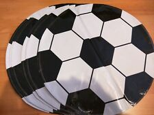 (10) Pc Soccer Ball Sports Balloons Party Birthday Supplies