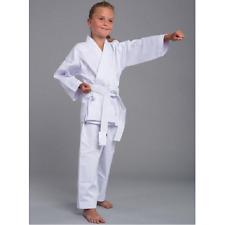 Kinder Karateanzug Karate Gi Grösse 150 sehr reißfestes Gewebe mit Gürtel
