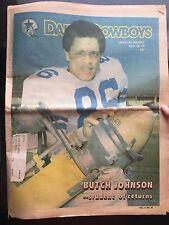 """"""" NFL Dallas Cowboys Official Weekly Magazine October, 28, 1978; Vol. 4, No. 20"""