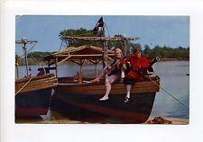 Wakefield MA Mass Pleasure Island Pirate Ride, costumes, Jolly Roger, 1950's?