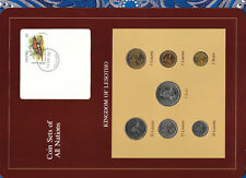 Coin Sets of All Nations Lesotho UNC 1979-1985 1 Lisente 1985