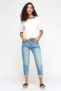 Women Ladies ex Mango boyfriend jeans