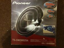"""Pioneer TS-SW3002S4 12"""" 30cm Shallow Car Mount Sub Subwoofer 400w RMS"""