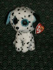 """Ty Beanie Boo 6"""" ~ FETCH the DALMATION - MINT with MINT TAGS (RED) ~ RETIRED"""