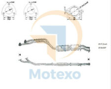 Catalytic Converter BMW 325i 2.5i (E36) Cabriolet 3/93-12/95
