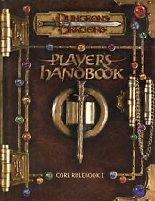 PLAYERS HANDBOOK CORE RULEBOOK 1 NM! TSR Dungeons & Dragons AD&D D&D