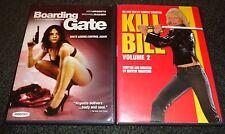 BOARDING GATE & KILL BILL VOLUME 2-2 movies-MICHAEL MADSEN, ASIA ARGENTO,THURMAN