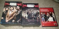13 DVD ROMANZO CRIMINALE LA SERIE 1 E 2 + IL FILM LOTTO STOCK