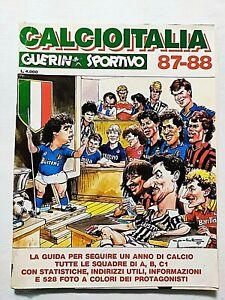 CALCIOITALIA 1987-1988 87-88 GUERIN SPORTIVO SCUDETTO NAPOLI MARADONA