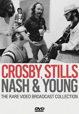 Crosby, Stills, Nash and Young: The Rare Video Broadcast... DVD (2018) Crosby,