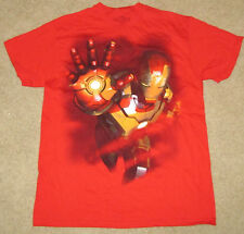 MARVEL T-SHIRT IRON MAN  MENS COMICS NEW MEDIUM TONY STARK M AVENGERS MARK 42!!!
