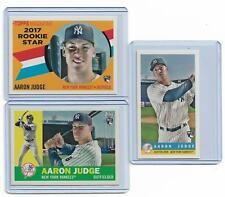 2017 Topps Archives Aaron Judge Rookie lot 3 Different Yankees ROY