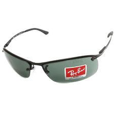 Ray Ban RB3183 006/71 Active Lifestyle Top Bar Sunglasses Matte Black/Grey-Green