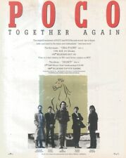 """(SFBK33) POSTER/ADVERT 13X11"""" POCO : CALL IT LOVE FROM THE ALBUM LEGACY"""