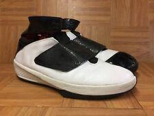 db26b827ebc7 RARE🔥 Nike Air Jordan 20 XX Quickstrike OG White Blak 310455-101 Sz 14